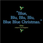 blue christmas dark by the king