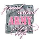 Proud Retired Army Wife
