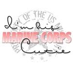 I'm his Marine Corps Cutie