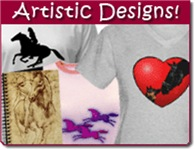 Horse Art Gifts & Clothes