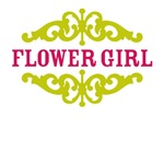 Flower Girl (Hot Pink and Lime)