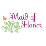 Butterfly Maid of Honor