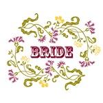 Bride: Graphic Style (English Garden Color Motif)