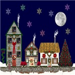 The Village at Christmas