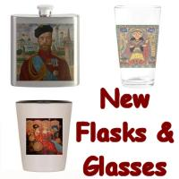 New! Glasses & Flasks