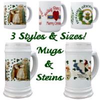 Christmas Mugs & Steins
