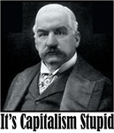 "J.P. Morgan says ""It's Capitalism Stupid"""