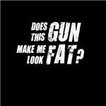 Does this gun make me look fat?