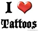 I Love (Heart) Tattoos