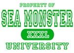 Sea Monster University T-Shirts