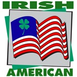 Irish American Shamrock T-Shirts
