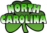 North Carolina Shamrock T-Shirts