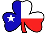 Texas Flag Shamrock T-Shirts