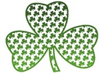 Shamrocks in Shamrock T-Shirts
