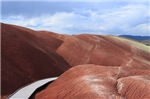 Painted Hills Oregon Red