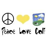 Peace Love Golf