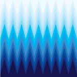Blue ombre Chevron