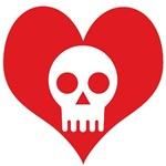 Heart and Skull