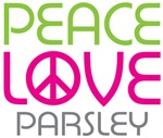 Peace Love Parsley