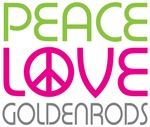 Peace Love Goldenrods