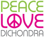 Peace Love Dichondra