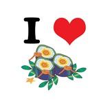 I Heart (Love) Sushi