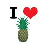 I Heart (Love) Pineapple