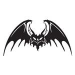 Tribal Vampire Bat Design