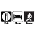 Eat. Sleep. Camp.