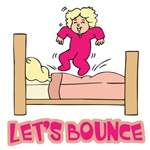 Let's Bounce Jumping On Bed
