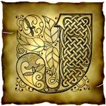 Celtic Knotwork Letter J