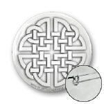 Celtic Paper Cutout Knot Buttons