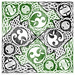 Celtic Knotwork Puzzle Square
