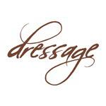 dressage horses - dressage (brown text)