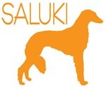 Saluki Dogs Gold