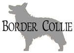 Border Collie #2 Fancy Text