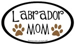 Labrador Mom Oval