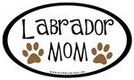 Labrador Mom Oval
