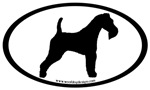 Wire Fox Terrier Oval
