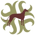 Greyhound Dog Tribal