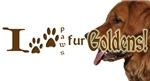 I PAWS FUR GOLDENS2 (Pun)