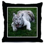 White Tiger Pillows