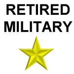 Retired Army, Navy, Air Force and Marines Shirts