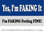 Yes, I'm Faking It