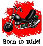 Born to Ride Motorcycle T-Shirts Gifts