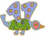 Primitive Bird Aztec Mandala T-Shirts Gifts