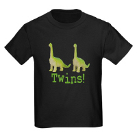 Cool Dinosaur Twins T Shirts Gifts