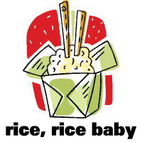 Rice Rice Baby Chinese Food T-Shirts Gifts