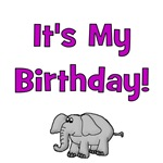 It's My Birthday!  Elephant
