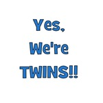 Yes, We're Twins! Blue